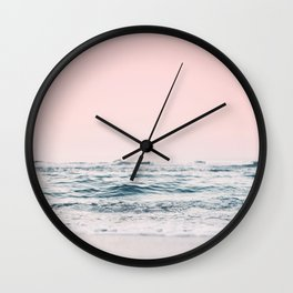 Pastel Ocean Wall Clock