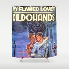 Flawed Lover Shower Curtain