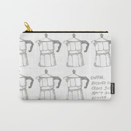 Coffee v. crack Carry-All Pouch