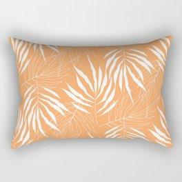 Ash Tree Leave Scandinavian Pattern Rectangular Pillow