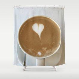 Hot Coffee Love Shower Curtain