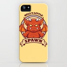 Little Red Devil iPhone Case