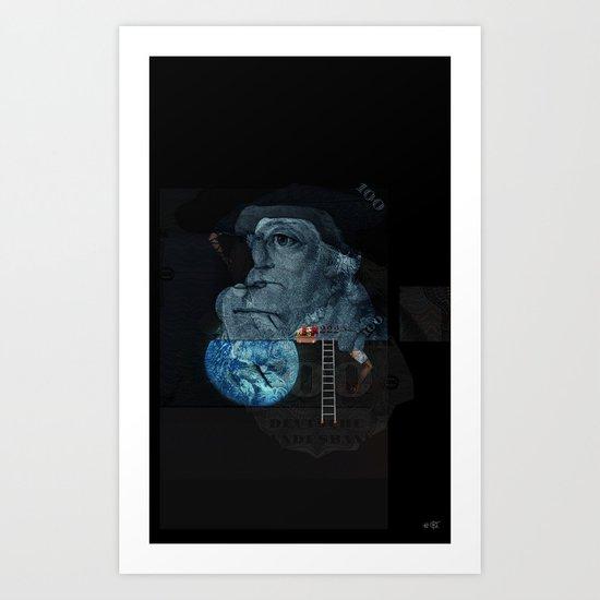 Space 101 Art Print