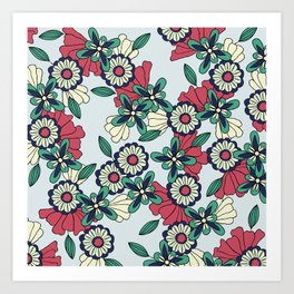 Be My Starflower Art Print