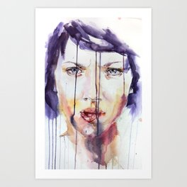 Portraint 1 Art Print
