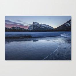 Vermilion Lakes Sunrise Canvas Print