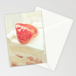 Hello Strawberries Stationery Cards