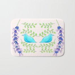 Bluebirds Bath Mat