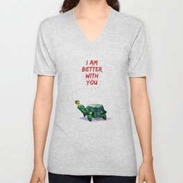 I Am Better With You [Elementary CBS] Unisex V-Neck