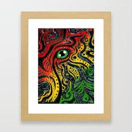 Eye of Africa Framed Art Print