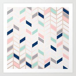 Herringbone Art Print