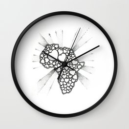 For the love of Africa Wall Clock