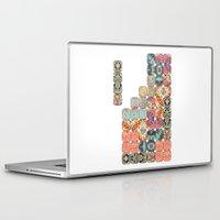 tetris Laptop & iPad Skins featuring TETRIS by Bianca Green
