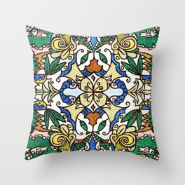 Storytile Porto, Portugal Throw Pillow