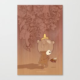 Honeyrama Canvas Print