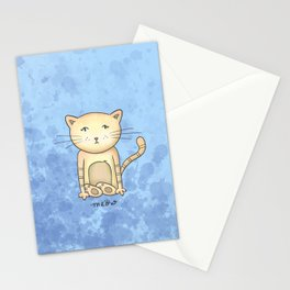 Kitty Kitty Meow Meow Stationery Cards