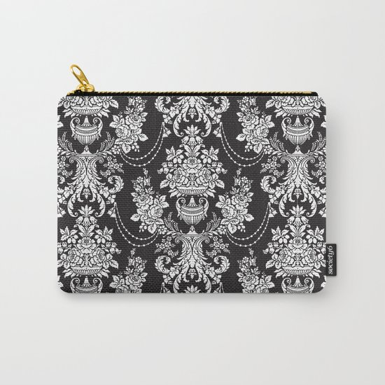 Vintage Pattern Carry-All Pouch