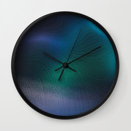 Beauty of the Northern Lights Wall Clock