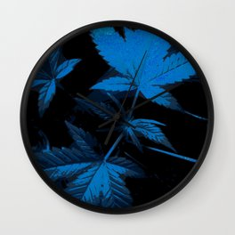 DaPlant - Blue --- #GREENRUSH Wall Clock