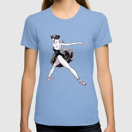 Black swan CoolNoodle T-shirt