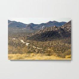 Geology Tour Road Metal Print