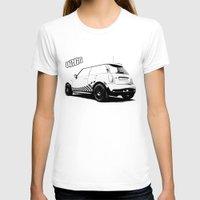 mini cooper T-shirts featuring Hartge Mini Cooper S by zero2sixty
