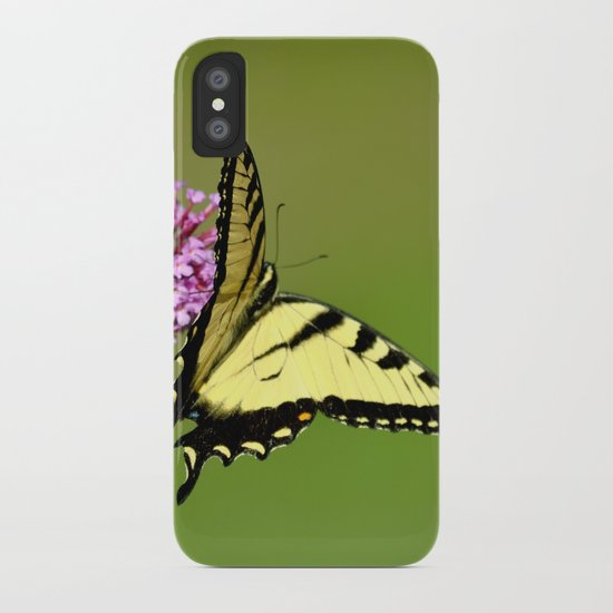 Nature Does Not Intrude II iPhone Case