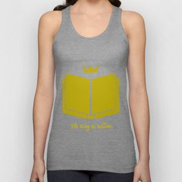 The King in Yellow Unisex Tank Top