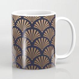 Art Deco Shell Pattern Coffee Mug