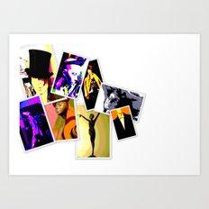 Kuhl's Kit Kat Klub: Wall Of Fame Art Print
