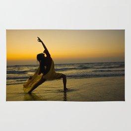 Yogi Sunset over Indian Ocean Rug
