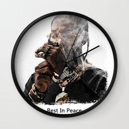 """"""" Rest In Peace pop smoke """" Wall Clock"""