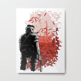 Big Boss (Red) Metal Print