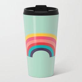 Rainbow Metal Travel Mug
