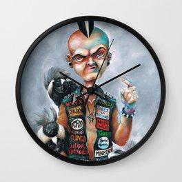 Skunk Punk Wall Clock
