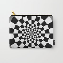 Checker Tunnel Carry-All Pouch