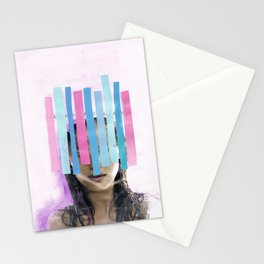 Trapped In My Thoughts Stationery Cards