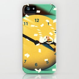working time iPhone Case