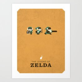 The Legend of Zelda Art Print