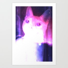Starcat Art Print