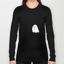 Grumpy Ghost Long Sleeve T-shirt