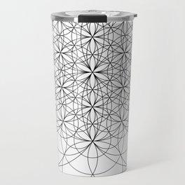 Flower of life sacred geometry Travel Mug