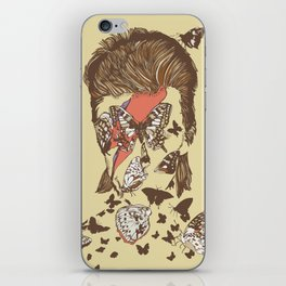 FACES OF GLAM ROCK iPhone Skin