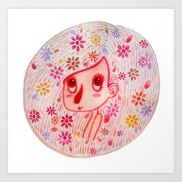 Pink and Girly Art Print