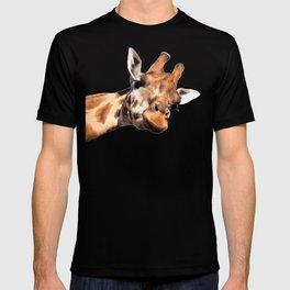 Giraffe portrait T-shirt