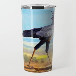 Secretary Bird Travel Mug