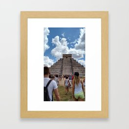 Chichen Itza Mex Framed Art Print