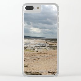 Low Tides Clear iPhone Case