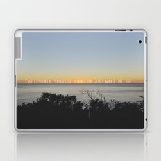 california sunrise come on and wake me up  Laptop & iPad Skin