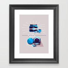 :::Sweet blueberry marmalade::: Framed Art Print